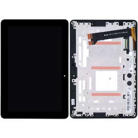Модуль (дисплей + тачскрин) для ASUS MeMO Pad 10 (ME102A) K00F черный с рамкой MCF-101-0990-01-FPC-V2.0