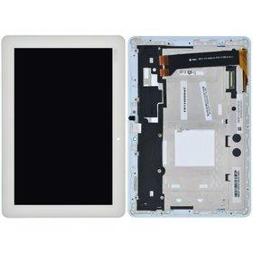 Модуль (дисплей + тачскрин) для ASUS MeMO Pad 10 (ME102A) K00F белый с рамкой MCF-101-0990-01-FPC-V2.0