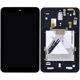 Модуль (дисплей + тачскрин) для ASUS MeMO Pad HD 8 (ME180A) (K00L) черный с рамкой 5493W FPC-1 REV:2