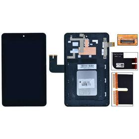 Модуль (дисплей + тачскрин) для ASUS MeMO Pad HD 7 (ME173X) K00B черный с рамкой 13NK00B2AP0131