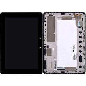 Модуль (дисплей + тачскрин) для ASUS MeMO Pad FHD 10 ME302C (K00A) (без 3G) черный с рамкой JA-DA5425NA