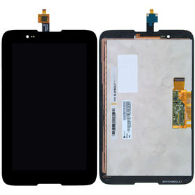 Модуль (дисплей + тачскрин) для Lenovo IdeaTab A7-30 (A3300-HV) черный без рамки