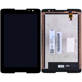 Модуль (дисплей + тачскрин) для Lenovo IdeaTab A8-50 (A5500) черный без рамки