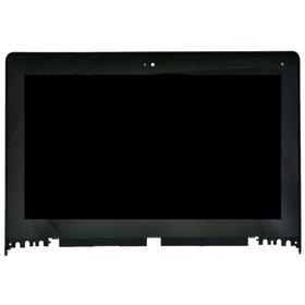 Модуль (дисплей + тачскрин) для Lenovo Yoga 2 11 черный I116FGT02V2_55TPC