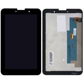 Модуль (дисплей + тачскрин) для Lenovo IdeaTab A3000 черный без рамки Q070LRE-LA1