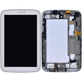 Модуль (дисплей + тачскрин) для Samsung Galaxy Note 8.0 N5100 (3G & Wifi) белый с рамкой