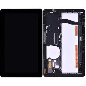 Модуль (дисплей + тачскрин) для Samsung XE500T1C черный с рамкой