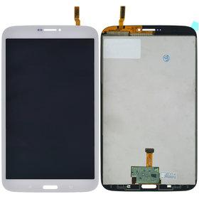 Модуль (дисплей + тачскрин) для Samsung Galaxy Tab 3 8.0 SM-T311 (3G, WIFI) белый (С отверстием под динамик)