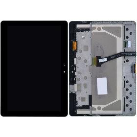 Модуль (дисплей + тачскрин) для Samsung Galaxy Note 10.1 N8010 (Wifi) черный с рамкой