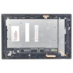 Модуль (дисплей + тачскрин) для Sony Xperia Tablet Z SGP311 черный с черной рамкой