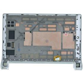 Модуль (дисплей + тачскрин) белый с рамкой Lenovo Yoga Tablet 2 8 (830L)