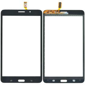 Тачскрин черный (С отверстием под динамик) Samsung Galaxy Tab 4 7.0 SM-T235 (LTE)
