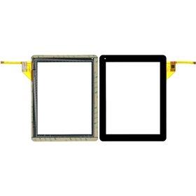 """Тачскрин 9.7"""" 12 pin (184x237mm) YTG-P97002-F1 V1.6 черный"""