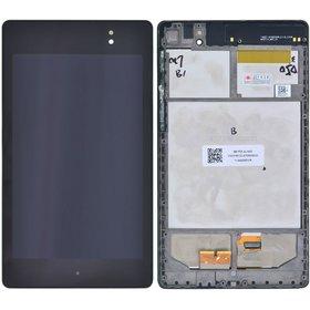 Модуль (дисплей + тачскрин) для ASUS Google Nexus 7 FHD 2013 (ME571K) k008 WIFI черный с рамкой без 3G E5DT338B