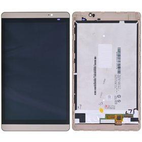 Модуль (дисплей + тачскрин) для Huawei MediaPad M2 (M2-801L) золото