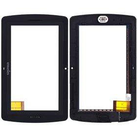 """Тачскрин 7.0"""" 40 pin (134x200mm) SG5208A-FPC-V0 черный с рамкой"""