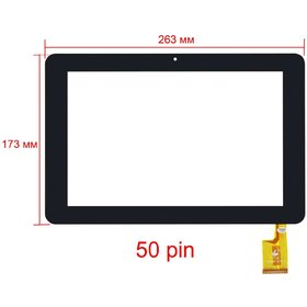 "DIGNITY TPC00187 VER1.0 Тачскрин 10.1"" 50 pin (173х263mm) черный"
