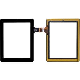 """300-L4080A-C00-V1.0 Тачскрин 10.1"""" 50 pin (185x240mm) черный"""