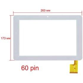 """Тачскрин 10.1"""" 60 pin (173х263mm) TPC0323 VER1.0 белый"""