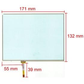 """Тачскрин 8.0"""" 4 pin (132x171mm) RP0119-8005-8.0"""
