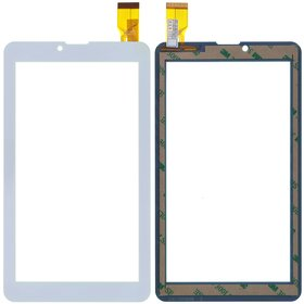 "Тачскрин 7.0"" 30 pin (104х184mm) белый (Проверен!) Prestigio MultiPad WIZE 3037 3G (PMT3037)"