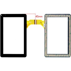 "Тачскрин 9.0"" 50 pin (141x233mm) DH-0901A1-FPC02-02 черный"