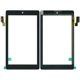"""Тачскрин 7.0"""" 36 pin (107x187mm) SG5740A-FPC-V5-1 черный (Без отверстия под динамик)"""