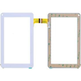 """C7000216FPVA Тачскрин 7.0"""" 30 pin (111x186mm) белый (Без отверстия под динамик)"""