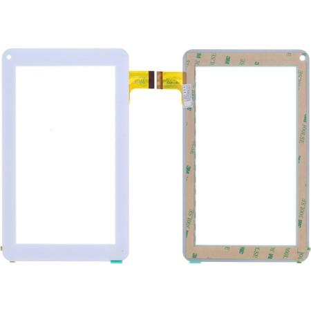 """Тачскрин 7.0"""" 30 pin (111x186mm) XRDPG-070-34 белый (Без отверстия под динамик)"""