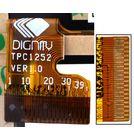 """Тачскрин 7.0"""" 39 pin (104x186mm) TPC1252VER.1.0 черный (С отверстием под динамик)"""