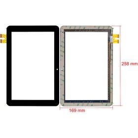"Тачскрин 10.1"" 39 pin + 39 pin (169x258mm) черный TELEFUNKEN TF-MID1006"