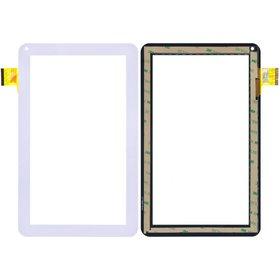 "Тачскрин 10.1"" 45 pin (160x258mm) YCF0464-A белый"