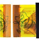 """Тачскрин 7.0"""" 51 pin (107x188mm) YDT1241-A1 черный"""