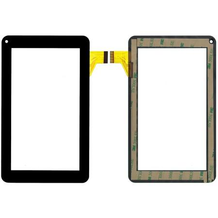 """Тачскрин 7.0"""" 30 pin (111x186mm) XRDPG-070-34 черный (Без отверстия под динамик)"""