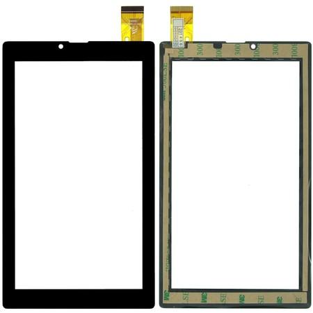 """Тачскрин 7.0"""" 30 pin (103x182mm) FPC-DP070002-F4 черный (с прямыми углами)"""