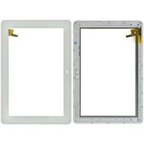 "Тачскрин 10.1"" 9 pin (174x257mm) FPC.1010-0325-A белый с рамкой"