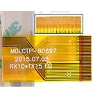 """Тачскрин 8.0"""" 30 pin (120x205mm) ZJ-80038A белый (С отверстием под динамик)"""
