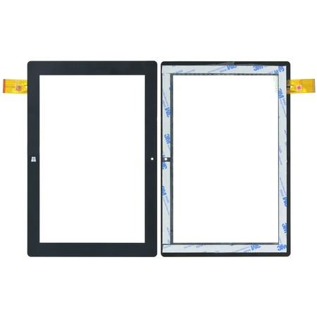 """Тачскрин 10.1"""" 61 pin (170x255mm) FPC-FC101JS233-00 черный"""