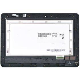 Модуль (дисплей + тачскрин) для ASUS Transformer Pad TF0310C черный с рамкой без 3G MCF-101-1521-V1.0 (черный шлейф)