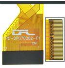 """Тачскрин 7.0"""" 30 pin (104x185mm) FPC-DP070002-F1 черный"""