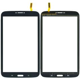 Тачскрин для Samsung Galaxy Tab 3 8.0 SM-T311 (3G, WIFI) черный (С отверстием под динамик)