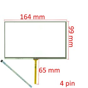 "Тачскрин 7.0"" 4 pin (100x165mm) BD0809B"