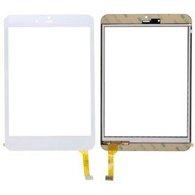 """Тачскрин 7.9"""" 40 pin MIPI (134x202mm) DH-0736A1-PG-FPC белый (С отверстием под динамик/без светодатчика)"""