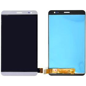 Модуль (дисплей + тачскрин) для Huawei MediaPad X2 (GEM-701L) белый