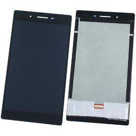 Модуль (дисплей + тачскрин) для Lenovo Tab 3 TB3-730X черный TV070WSM-TL1