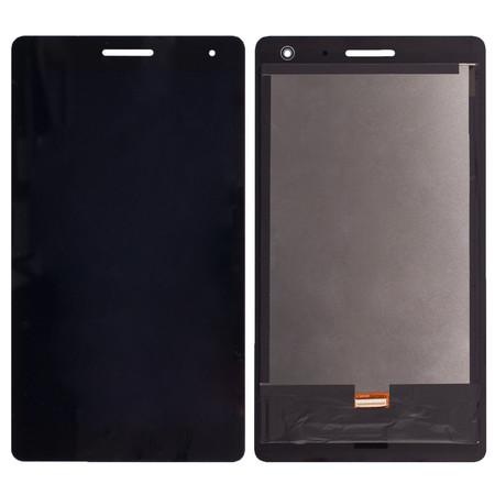 Модуль (дисплей + тачскрин) для Huawei Mediapad T3 7.0 3G (BG2-U01) черный (С отверстием под динамик)