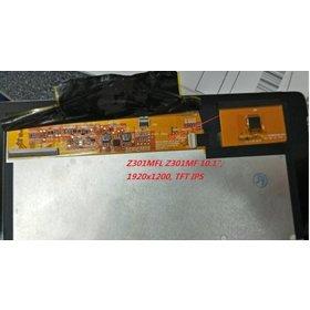 Модуль (дисплей + тачскрин) для ASUS ZenPad 10 Z301MFL черный NV101WUM-N52 FPCA:44-9741804 FPC:47-6040679