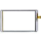 """Тачскрин 8.0"""" 45 pin (121x203mm) DXP2J1-0552-080B-FPC белый"""