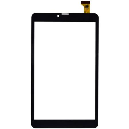 Тачскрин (120x204mm) черный (Версия C) Dexp Ursus P280 3G