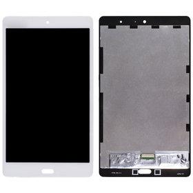 Модуль (дисплей + тачскрин) для Huawei MediaPad M3 Lite 8.0 (CPN-L09) белый